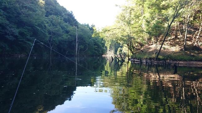 片倉ダム 笹川湖 ブラックバス釣り
