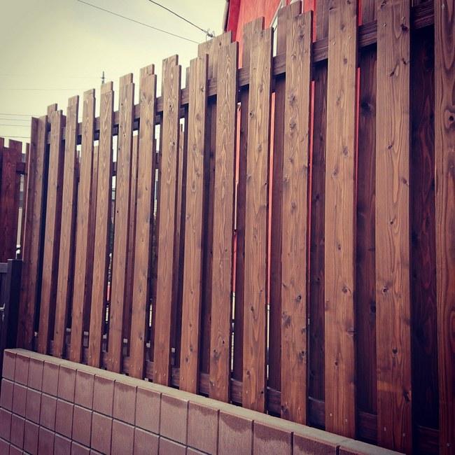 木製フェンス フェンス エクステリア