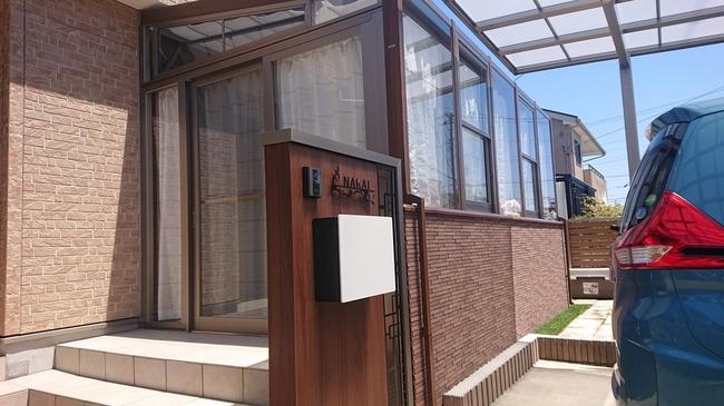 ガーデンルーム ココマ 機能門柱