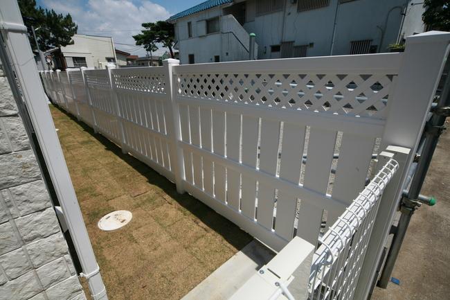 バイナルフェンス 目隠しフェンス フェンス